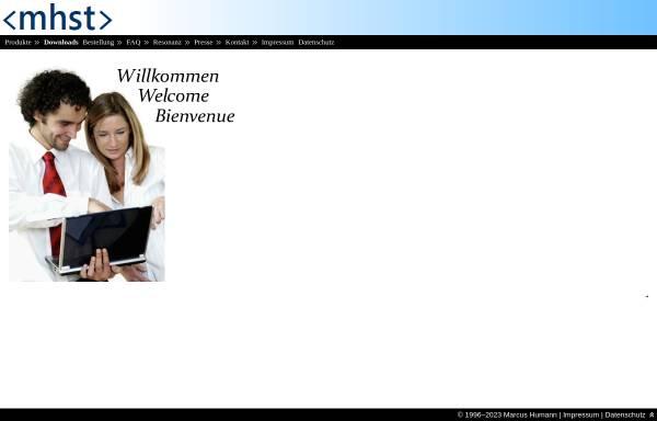 Vorschau von www.mhst.net, Marcus Humann Software-Technik