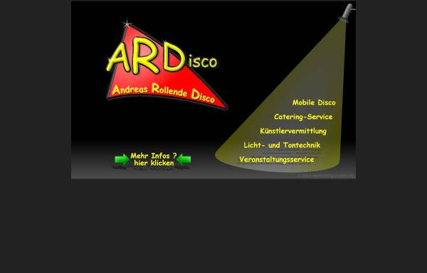 Vorschau von www.andreas-rollende-disco.de, ARDisco