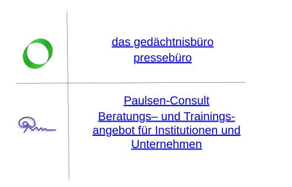 Vorschau von www.gedaechtnismanagement.de, Institut für Gedächtnismanagement und Therapie
