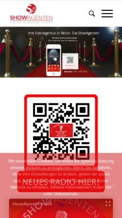 Vorschau der mobilen Webseite www.berkholz.de, Berkholz Entertainment