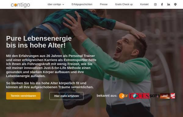 Vorschau von www.contigo.world, Contigo Personal Training