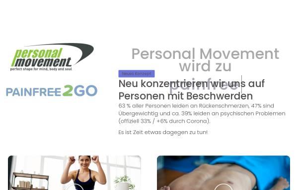 Vorschau von www.personalmovement.ch, Personal Movement