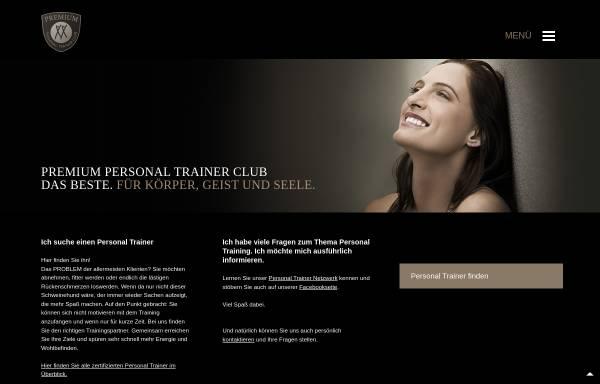 Vorschau von www.premium-personal-trainer.com, Premium Personal Trainer