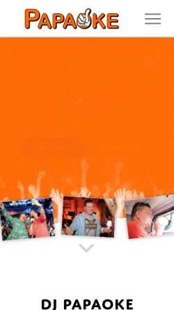 Vorschau der mobilen Webseite www.crazystage.de, Crazystage