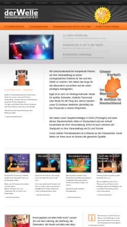 Vorschau der mobilen Webseite www.derwelle.de, derWelle Veranstaltungstechnik & DJ