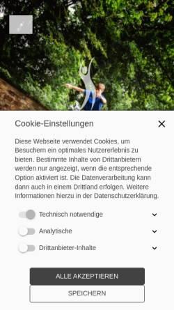 Vorschau der mobilen Webseite tgschötmar.de, Turngemeinde Schötmar von 1863 e.V.