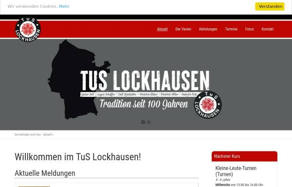 Vorschau von www.tus-lockhausen.de, TuS Lockhausen e.V.