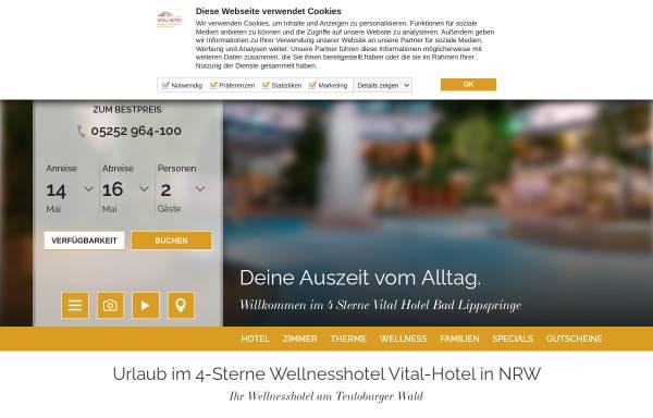 Vorschau von www.vital-hotel.de, Vital Hotel