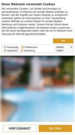 Vorschau der mobilen Webseite www.vital-hotel.de, Vital Hotel