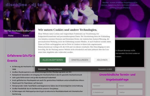 Vorschau von www.discoline.de, Discoline