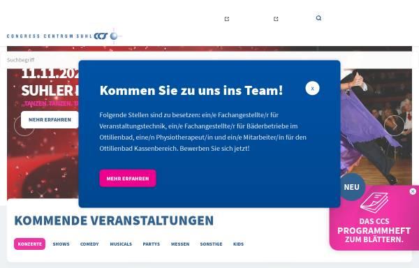 Vorschau von www.suhl-ccs.de, Congress Centrum Suhl