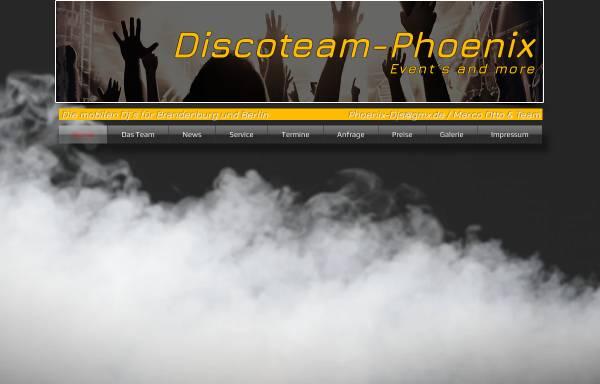 Vorschau von www.discoteam-phoenix.com, Discoteam-Phoenix