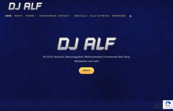Vorschau von www.djalf.at, DJ Alf