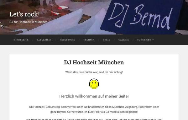 Vorschau von www.dejay-bernd.de, DJ Bernd
