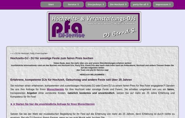 Vorschau von www.dj-bernd-s.de, DJ Bernd S.