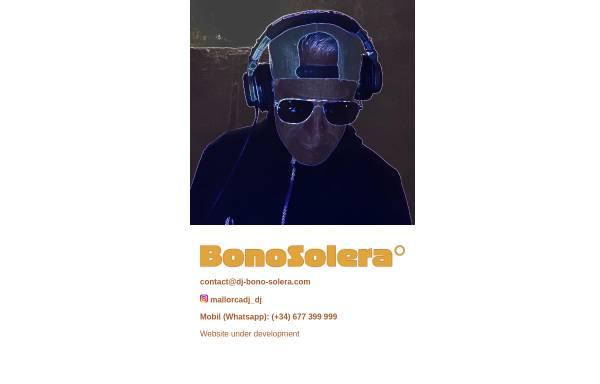 Vorschau von www.dj-bono-solera.com, DJ BonoSolera