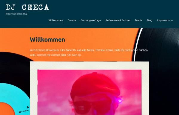 Vorschau von www.djcheca.de, DJ Checa