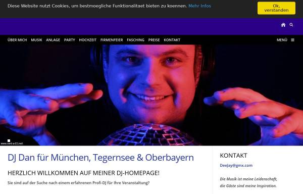 Vorschau von www.rent-a-dj.net, DJ Dan München
