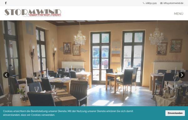 Vorschau von www.cafe-stormwind.de, Café Stormwind