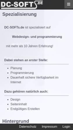 Vorschau der mobilen Webseite www.dj-herakles.de, DJ Herakles