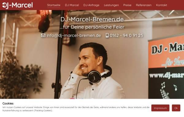 Vorschau von www.dj-marcel-bremen.de, DJ Marcel