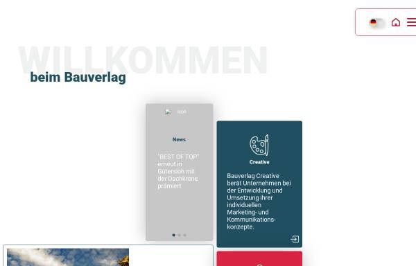 Vorschau von www.bauverlag.de, Bauverlag BV GmbH