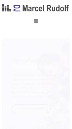 Vorschau der mobilen Webseite www.proakustik-online.de, DJ Marcel Rudolf