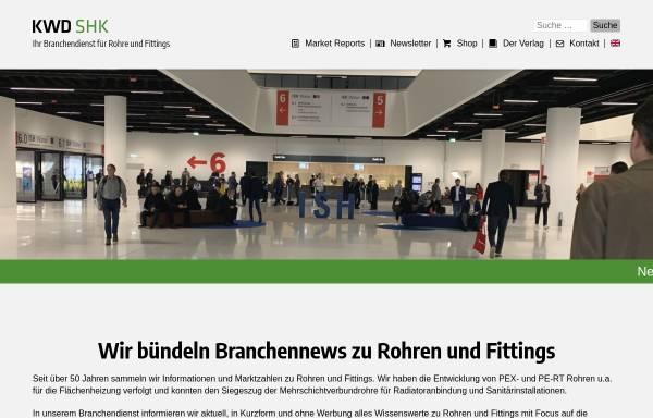 Vorschau von www.kwd-online.de, KWD-Informationsdienste, Redaktion Hix