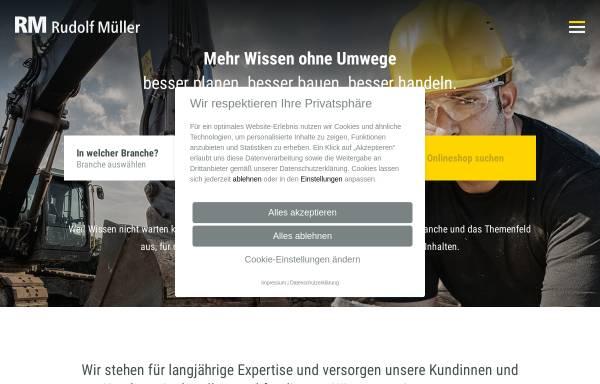 Vorschau von www.rudolf-mueller.de, Verlagsgruppe Rudolf Mueller