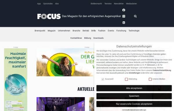 Vorschau von www.euro-focus.de, Euro-Focus NetNews