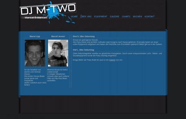 Vorschau von www.dj-mtwo.de, DJ M-Two