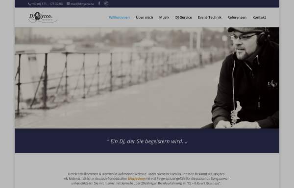 Vorschau von www.djnycco.de, DJ Nycco