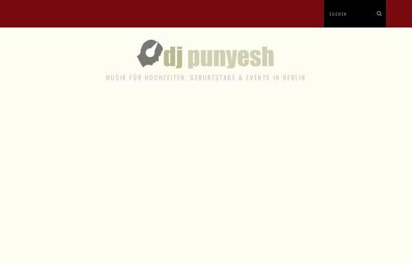 Vorschau von www.djpunyesh.de, DJ Punyesh