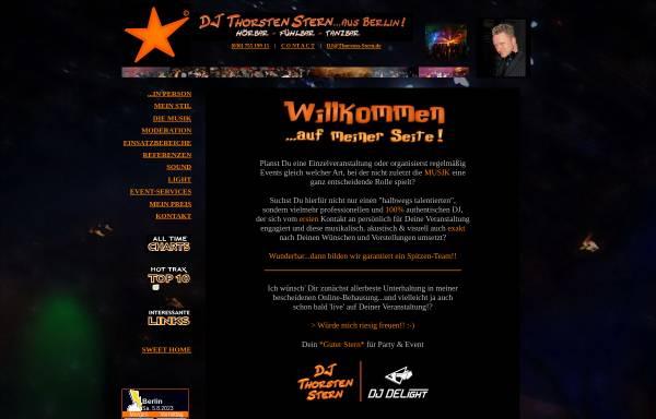 Vorschau von www.thorsten-stern.de, DJ Thorsten Stern