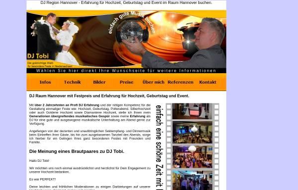 Vorschau von www.dj-tobi-hannover.de, DJ Tobi