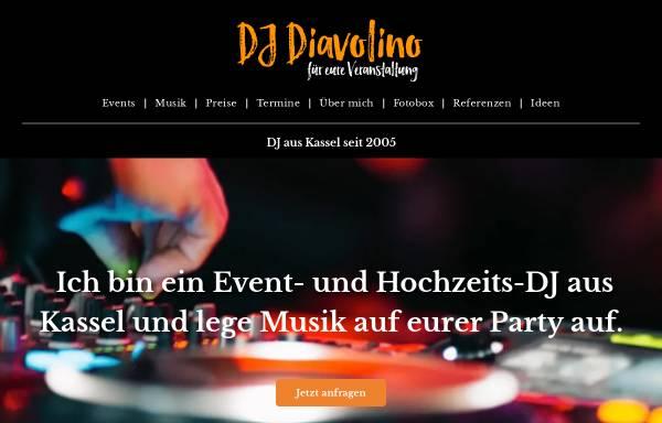 Vorschau von www.dj-diavolino.de, DJ-Diavolino