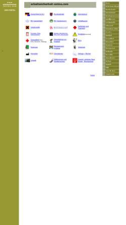 Vorschau der mobilen Webseite www.arbeitssicherheit-online.com, Arbeitssicherheit-Online