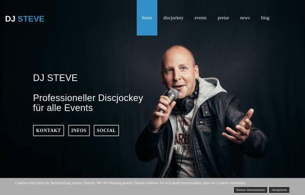 Vorschau von www.dj-steve.de, DJ Steve - Professioneller Discjockey für alle Events