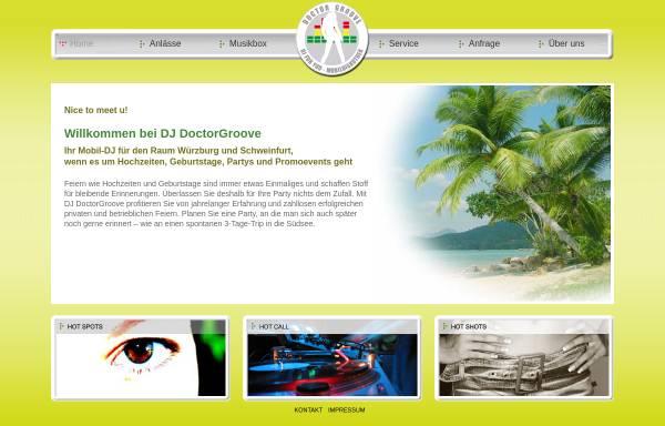 Vorschau von www.doctorgroove.de, Doctor Groove