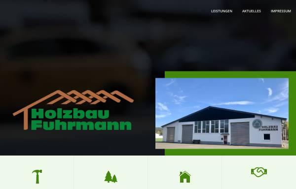 Vorschau von www.holzbau-fuhrmann.de, Holzbau Fuhrmann GmbH