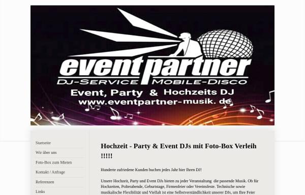 Vorschau von www.eventpartner-musik.de, Eventpartner, Kai Stigmann