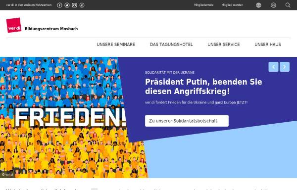Vorschau von bst-mosbach.verdi.de, Michael-Rott-Schule - ver.di-Bildungsstätte Mosbach