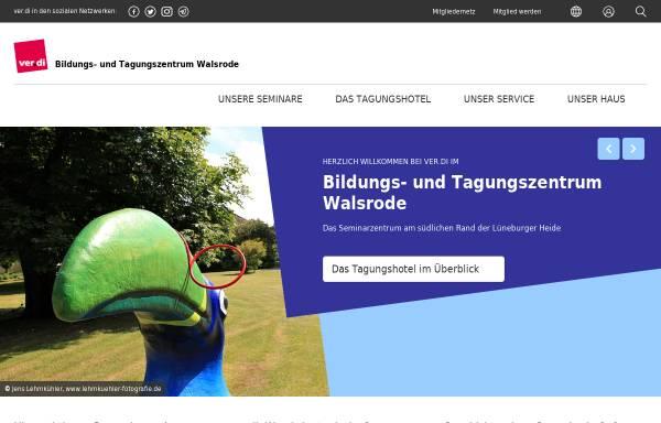 Vorschau von www.lust-auf-verdi-in-walsrode.de, ver.di Bildungs- und Tagungszentrum Walsrode