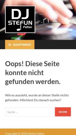 Vorschau der mobilen Webseite www.musikmacher.de, Felten, Stefan