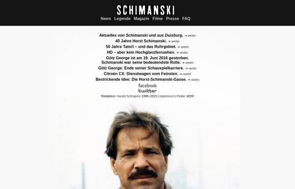 Vorschau von horstschimanski.info, Die Horst-Schimanski-Homepage