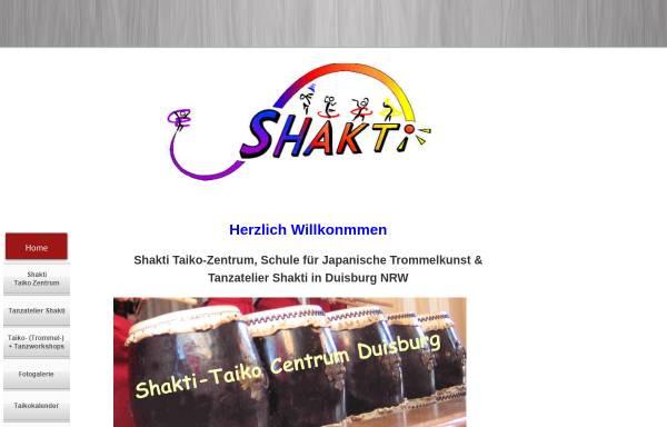 Vorschau von www.tanzatelier-shakti.de, Shakti-Taiko-Centrum