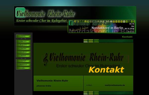 Vorschau von www.vielhomonie.de, Vielhomonie Rhein-Ruhr -