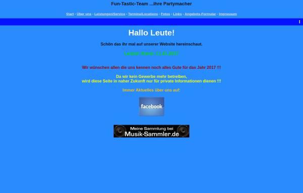 Vorschau von www.fun-tastic-team.de, Fun-Tastic-Team