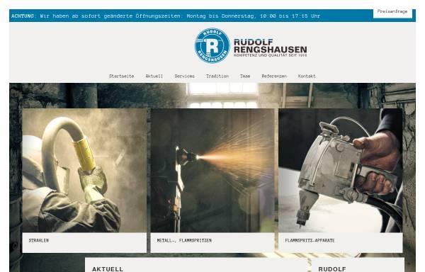 Vorschau von www.rengshausen.co.at, Rudolf Rengshausen - Metallspritztechnik