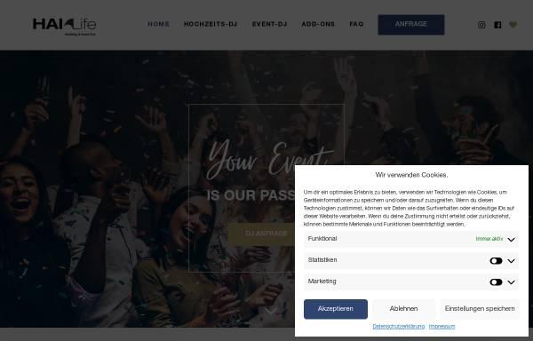 Vorschau von www.hai-life.de, HAI-LIFE